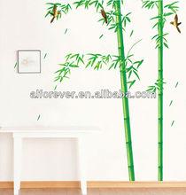 Pared de la decoración de bambú