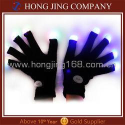 China wholesale Led gloves,led flashing gloves,light up gloves for party decoration