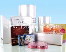 12 micron Polyolefin POF center fold film
