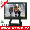 Full HD monitoring 15.1 inch LCD 3G SDI display Digital camera lcd screen