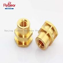 brass/copper hex nuts DIN934 fasteners