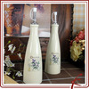 ceramic olive cruet set with pump
