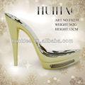 Fh239 tacones de partes del calzado tacones altos con suelas de zapatos de tacón con piedras