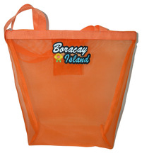 large plastic orange cheap mesh bag
