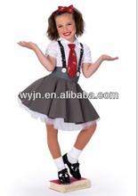 Bubble school girl dance tutu/costume- twinkle glisten school child dance stagetutu -child and adults' unique school dancewear