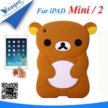 colorful new design silicone gel case for ipad mini