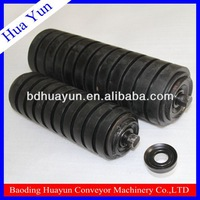 89mm Diameter Conveyor Spray Coating Rubber Rollers