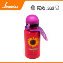Hot sale BPA free aluminum reusable kids drinking bottle for the best gift to childern