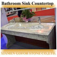 Commercial Double Bathroom Sink Countertop