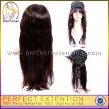 For Black Women Real Hairline Brazilian Human Hair Long Afro Wig