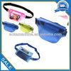 high-end transparent pvc waterproof waist bags pink color