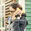 FL3185 Guangzhou hot selling lovely aninmal cute plush doll toy case for samsung galaxy s4 i9500