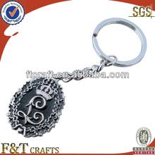 hot sale custom shape key chains metals with enamel