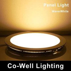 ultra thin led lights and light panel led 220v 18W 4000K/3000K/6000K,Dimmable and 12V Customsized