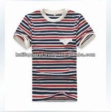 cotton striper t shirt, coton stripes t-shirt,