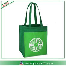 Foldable reusable shopping bag with printing logo