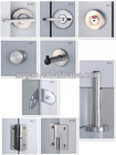 High quality Stainless steel cubicle hardware, cubicle lock, Toilet partition accessories