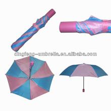 Beautiful ladies windproof 2 folds advertising umbrella with china wholesale