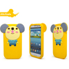 2014 newest silicone 3D cartoon shaped phone cases for Samsung I9300