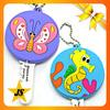 wholesale cute animal rubber car key cover
