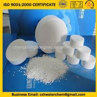 Trichloroisocyanuric acid tcca 90% chlorine tablets
