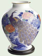 Arita Porcelain brass for japanese pottery of for brass vases