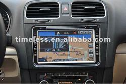 8inch big digital screen car dvd player with gps