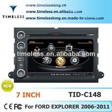 Timelesslong Car DVD Sat Navi for FORD Explorer/Fusion