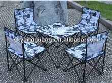beach chair and table with 4 chairs seat