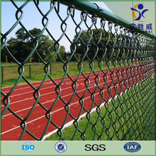 Hot galvanized & PVC coated chain link playground fence