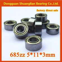 miniature deep ball bearing 685zz 685z 685 5*11*5mm rowing boat model bearing