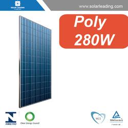 poly solar panels with high efficiency, pv solar module 280W