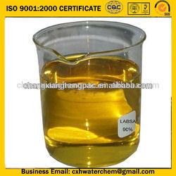 SGS certificate linear alkyl benzene sulfonic acid LABSA 96%min