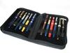 ADALPC - 0097 oem design cheap pen case / leather fountain pen case / special multiple pen case