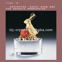 2014 New Style zodiac metal crafts of animal(rabbit)