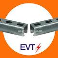 galvanizado de acero del canal del puntal unistrut