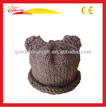 Fashion Knitted Beanie Cat Ears Hat
