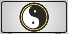 Yin & Yang License Plate