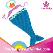 toptan fotoğraf denizkızı tığ işi bebek giysileri