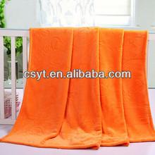 polyester fashion coral fleece blanket