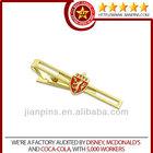 Top selling high quality custom metal tie pin