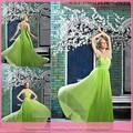 dl750 venda quente nova chegada pura volta querida verde limão vestidos de noiva padrões