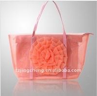 2014 Beach bag Nylon tote for ladies