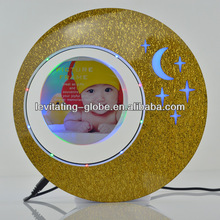 Beautiful picture photo frames, magnetic floating picture photo frame, Christmas decoration photo frame