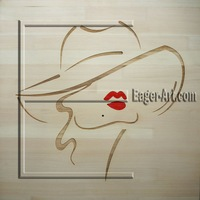 Unique 3D Painting on Wood (Pine 17mm) for Wholesale