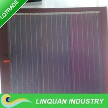 Small size 1.7W /5.9V thin film flexible solar panel