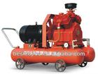 Portable explosive proof piston air compressor for mining
