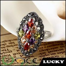 new design men and women different types zircon stone ring