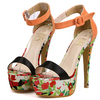 Summer Simple High Heel Lady Dress Shoes TW-HL0311