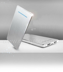 Ultrathin 5600mAh Portable silver evolution power bank portable battery charger